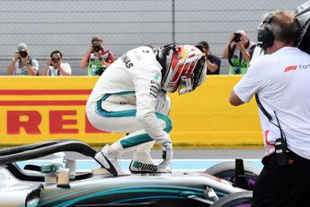 Gp Francia, Hamilton in pole