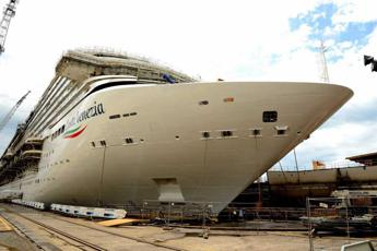 Fincantieri floats out first cruise ship for Chinese market