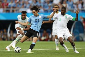 Arabia Saudita ko, Uruguay agli ottavi