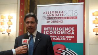 Federmanager Roma, intelligence economica strategia per manager 4.0