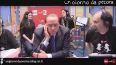 #10annidapecora, la trasmissione di Radio1 si festeggia con Berlusconi