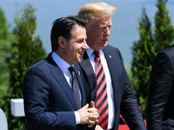 Trump benedice Conte