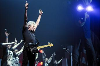 Roger Waters e Johnny Depp a 'Rock in Roma'
