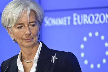 Lagarde segue orme Draghi: