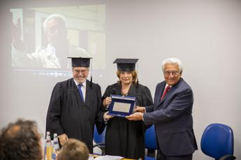 Premio alla carriera a Michele Guardì dall'Università eCampus