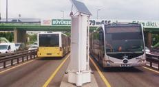 La turbina genera energia dal traffico