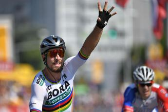 Tour de France, Sagan vince la seconda tappa