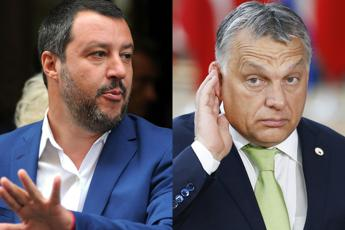 Salvini-Orban, M5S: