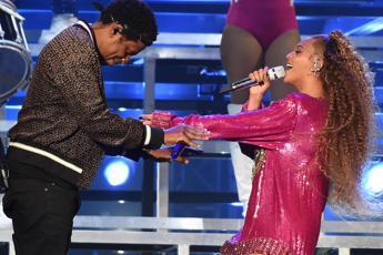 Paura sul palco per Beyoncé e Jay-Z