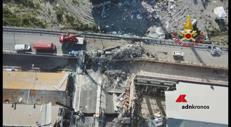 Il disastro di Genova visto dall'alto