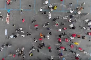 Flash mob #salviamoCampione, 'tuteliamo gioco sicuro'