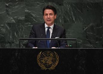 "Conte all'Onu: ""Populismo è nella Costituzione"""