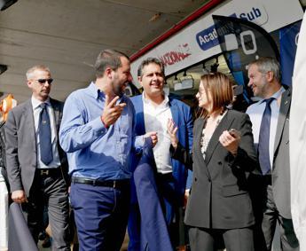 Nautica, Demaria incontra Salvini
