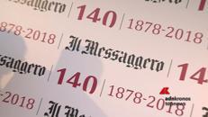 Il Messaggero compie 140 anni, il giornale di Roma tra storia e futuro