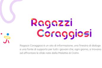 Malattia di Crohn, online sito per 'ragazzi coraggiosi'