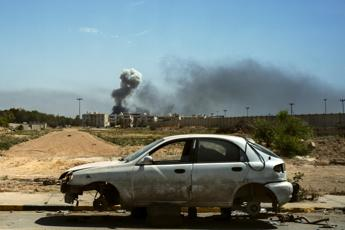 Tripoli's only functioning airport reopens after ceasefire
