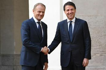Conte holds talks with Tusk in Rome