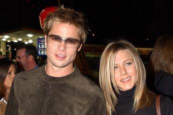 Pitt-Aniston, non erano insieme a Como