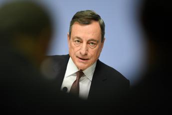 Bce, Draghi: Più urgente che mai maggiore spesa pubblica