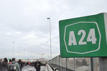 Il ministero: Limitare traffico su A24 e A25