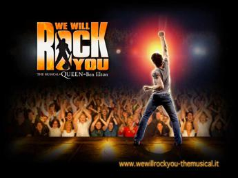 'We Will Rock You' torna sulle scene italiane