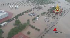 In volo sulle aree alluvionate