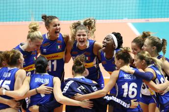 Volley, Azzurre in semifinale