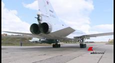 Bombardieri russi in azione