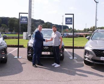 SUV Hyundai per l'AS Roma
