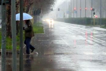 Ancora pioggia, poi la tregua
