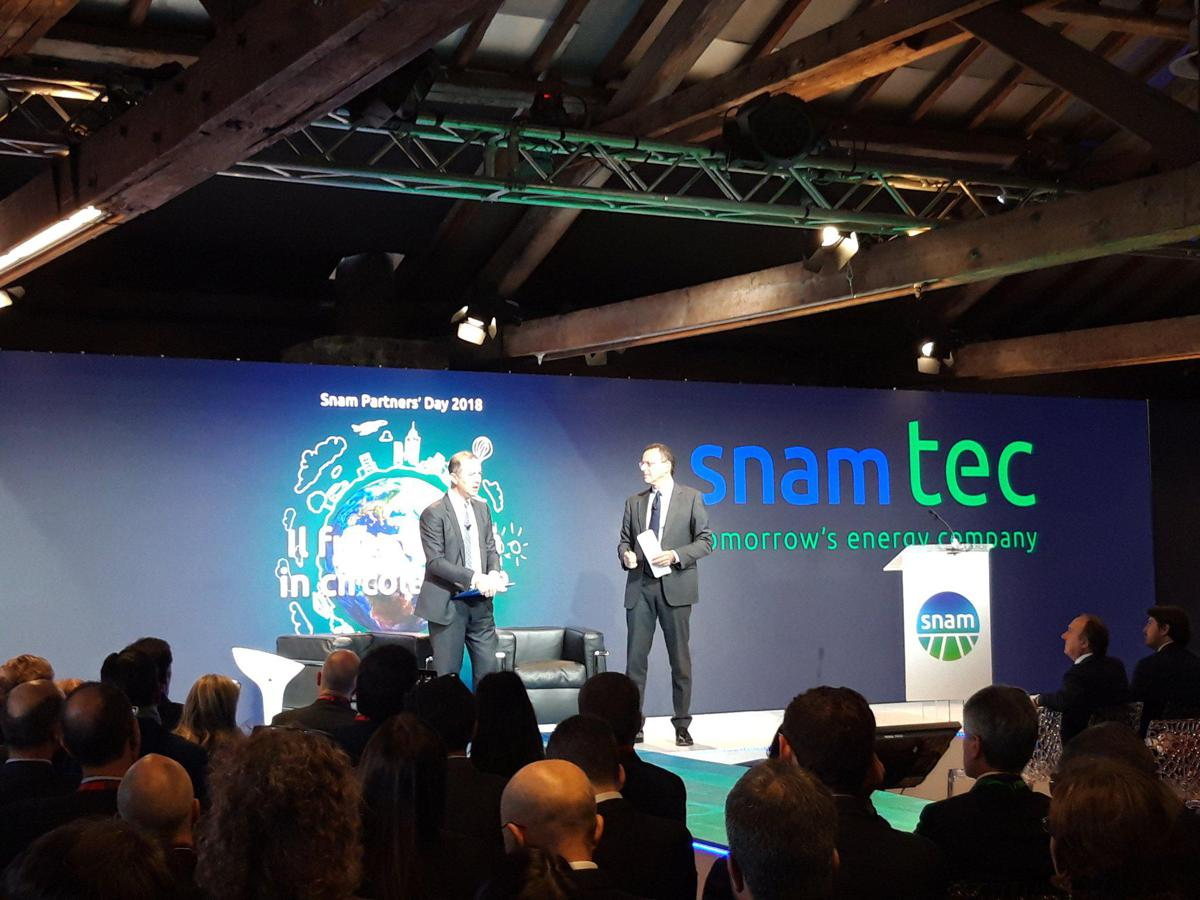 Snam, a Milano il Partners' Day