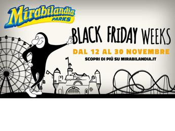 E' tempo di Black Friday Weeks a Mirabilandia