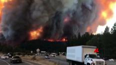 La California brucia