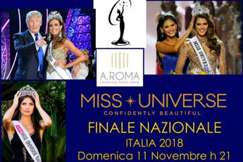 A Roma Miss Universe Italy 2018
