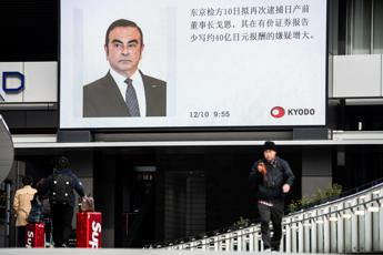 Nissan, incriminato l'ex presidente Ghosn