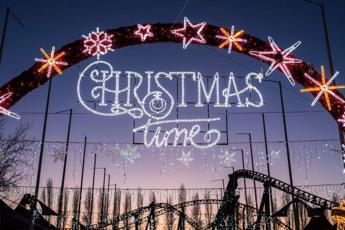 È 'Christmas Time' a Mirabilandia