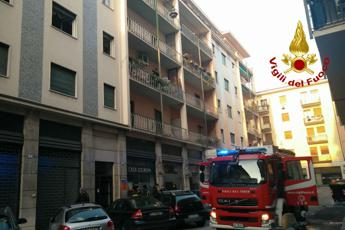 Rogo in palazzina a Verona, 20 persone all'ospedale