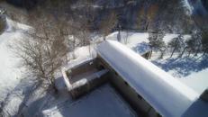 Neve nel Santuario della Laga, la storia incredibile