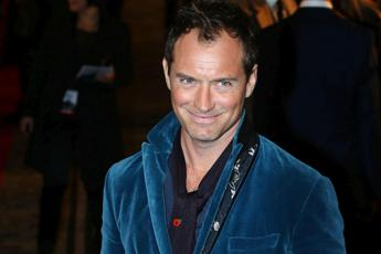 Jude Law a Venezia per 'The new Pope'