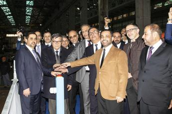 Fincantieri holds steel-cutting ceremony for Qatari navy vessel