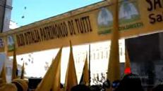 Pastori in protesta a Montecitorio
