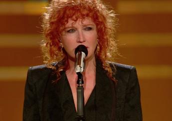 Sanremo: standing ovation per Fiorella Mannoia