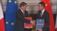 Via della seta, Italia e Cina firmano gli accordi