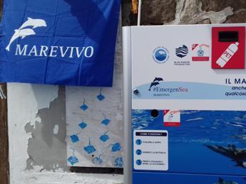 #EmergenSea, eco-compattatori a Panarea, Vulcano e Malfa
