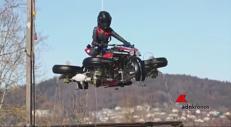 Il sogno possibile, realizzata la prima moto che vola
