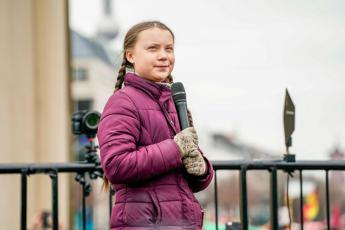 Greta Thunberg incontra Papa Francesco in Vaticano