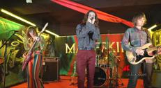 Mini live 'undergound' dei Maneskin