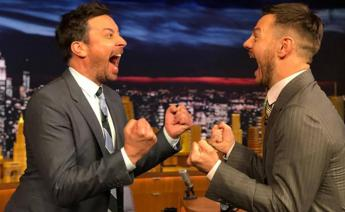 'Epcc' di Cattelan riparte col botto, intervista a Jimmy Fallon
