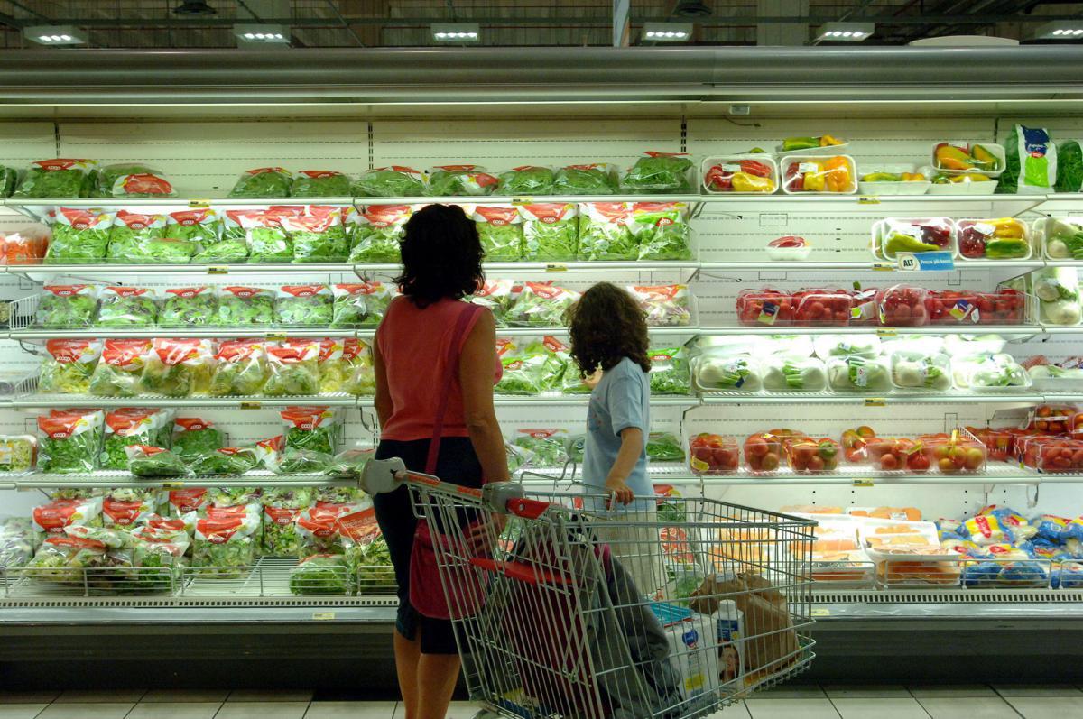 Boom consumo ortaggi in busta
