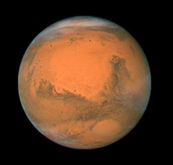 Marte, scoperti migliaia di vulcani di fango